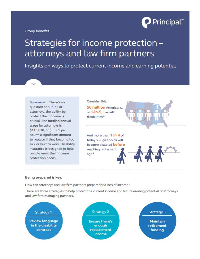 Strategies for income protection – att...