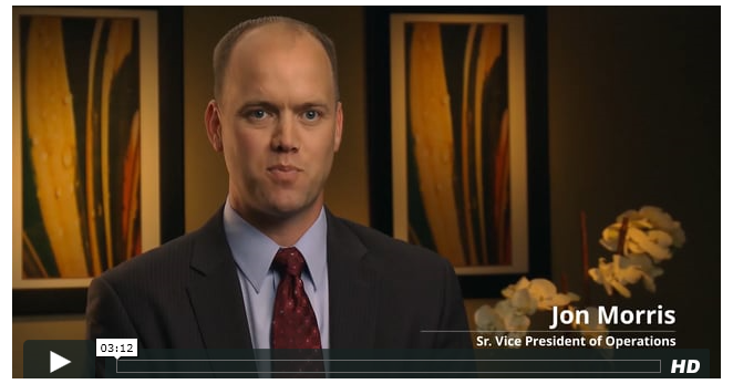 Feature Video: Jon Morris, Sr. Vice Pres...