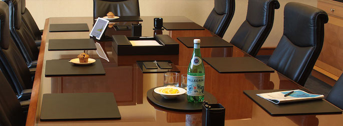 The Elegant Office Inc ALA Legal Marketplace - Boardroom table accessories
