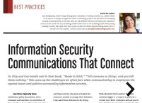 Information Security Communications that...