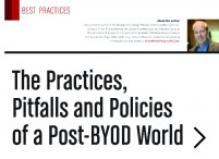 The Practices, Pitfalls and Policies of...