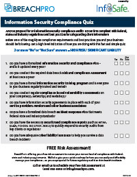 Information Security Compliance Quiz