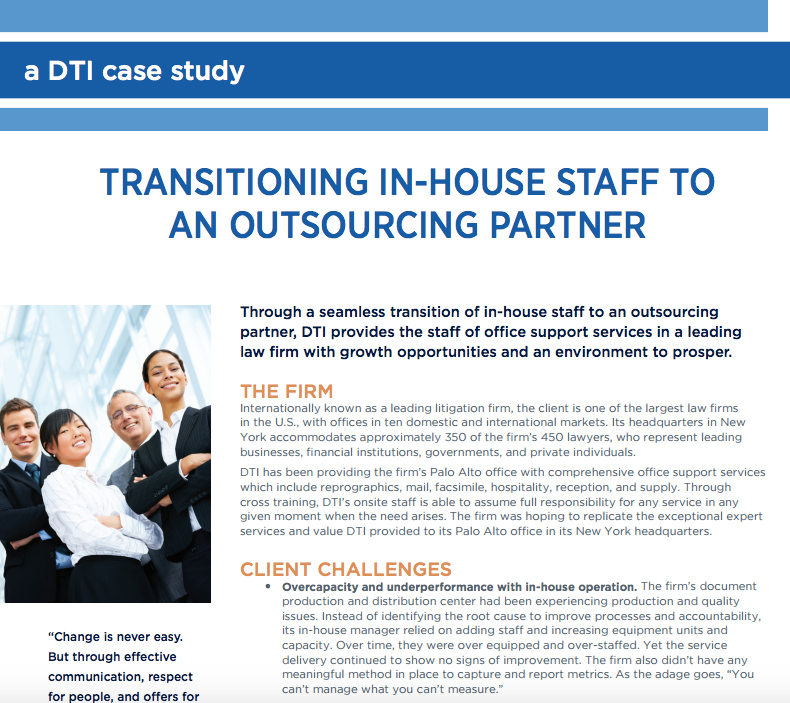 A DTI Case Study - Smooth Transition to...