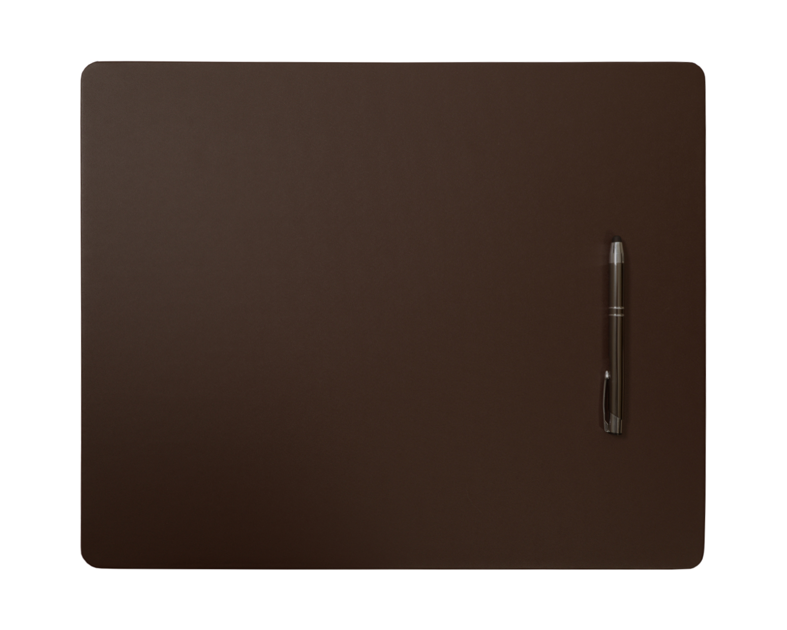 Brown Leatherette Conference Table Pad,...