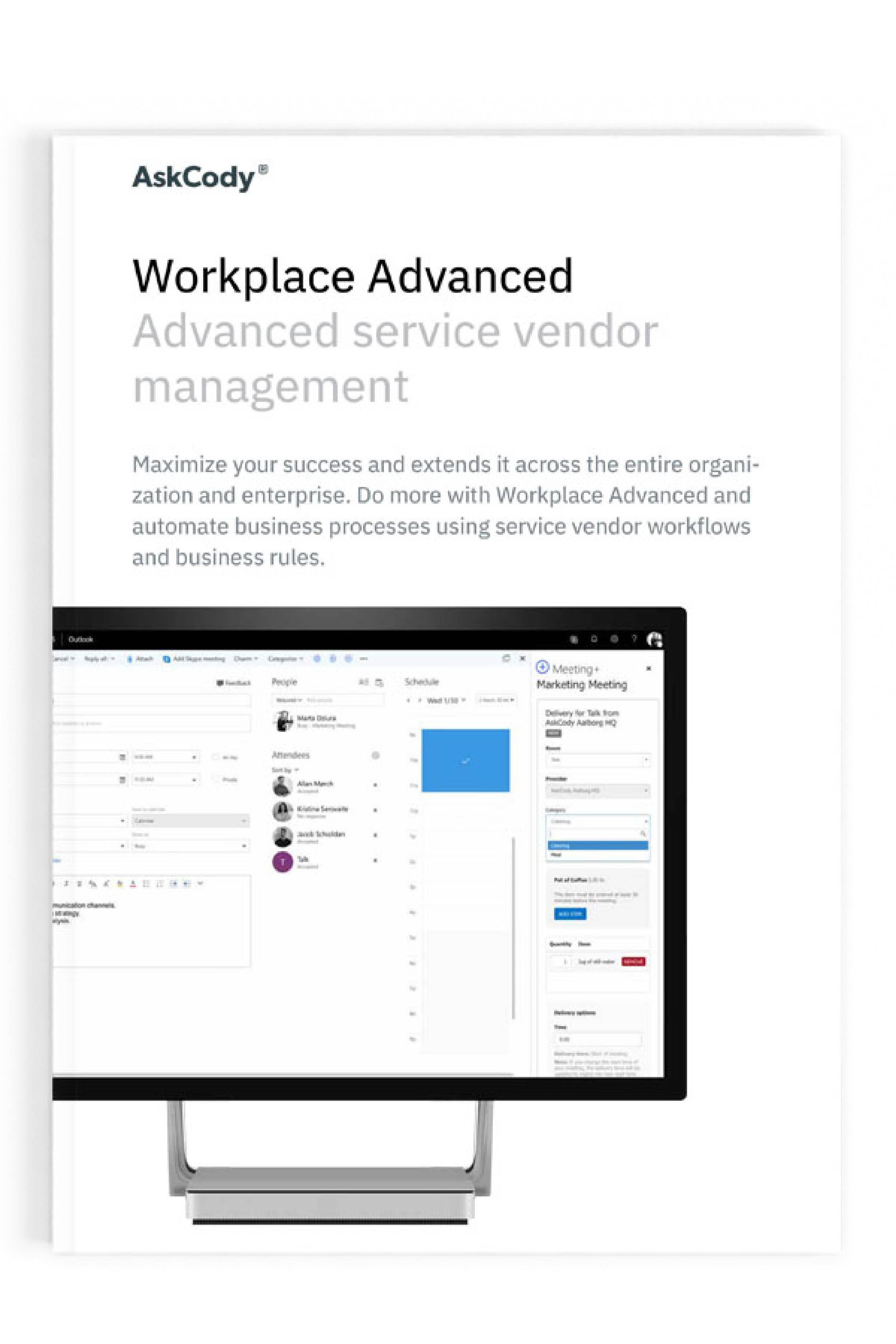 Workplace Advanced Product sheet