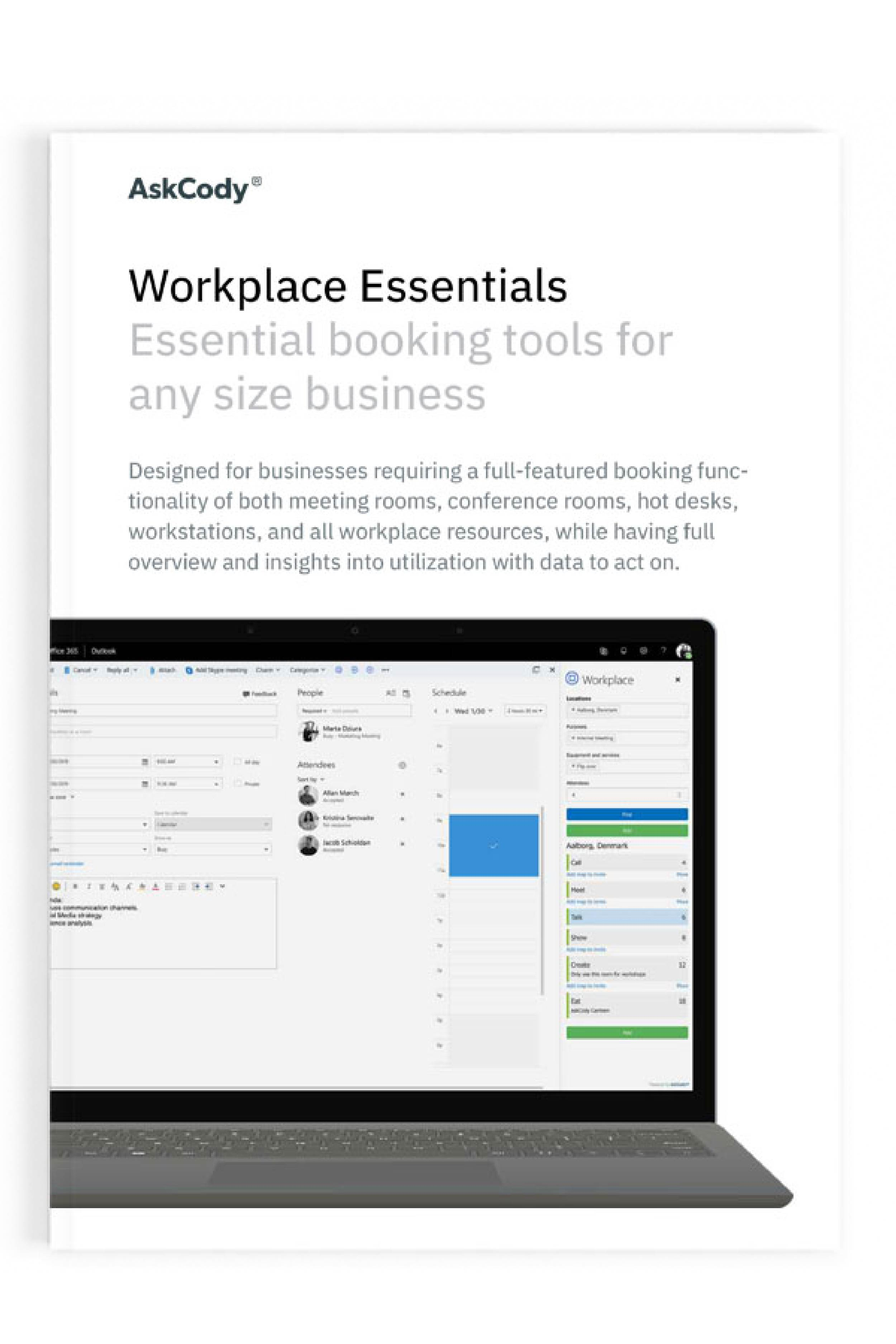 Workplace Essentials Product sheet